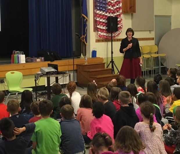 Maria at Crozet Elementary School